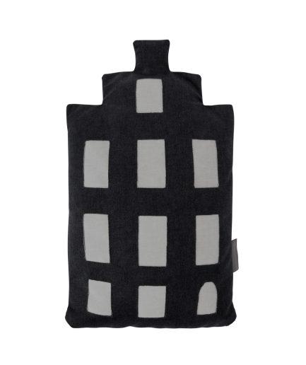 Baby pillow – Amsterdam trapgevel - black – souvenir / gift