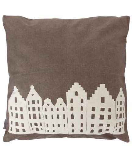 Big lounge pillow – taupe – souvenir/gift