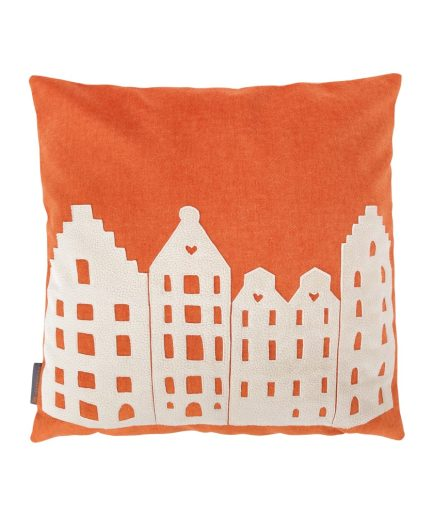Pillow – orange/vanilla – souvenir / gift