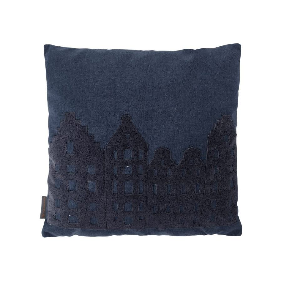 PILLOW – AMSTERDAM ZUIDAS MEN – NAVY – SOUVENIR / GIFT