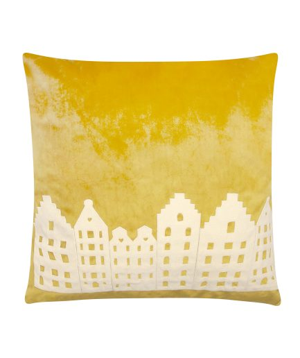 Amsterdam City Pillow Yellow Big Lounge