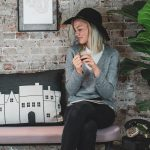 The Copenhagen City Pillow is is a timeless home deco item