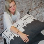 The Copenhagen City Pillow is a perfect gift