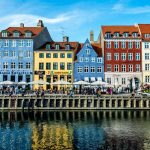 Nyhavn is the source of inspiration for the Copenhagen City Pillow